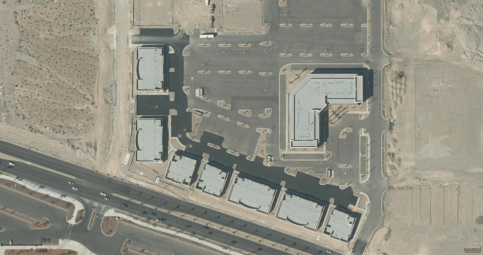 Aerial Photo Centenial Hill Center